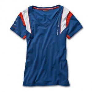Женская футболка BMW Motorrad Motorsport, Blue