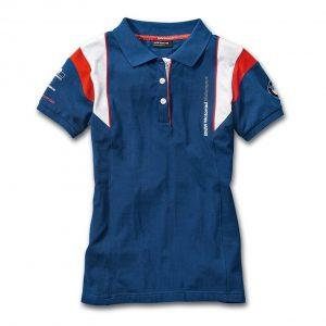 Женская рубашка-поло BMW Motorrad Motorsport, Blue