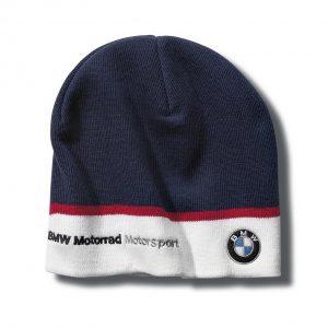 Вязаная шапка BMW Motorrad Motorsport Motorsport, Blue/White