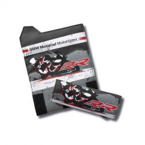 Текстильная накладка на ручку на липучке BMW Motorrad Motorsport