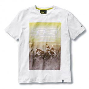 Мужская футболка BMW Motorrad R 1200 GS, White