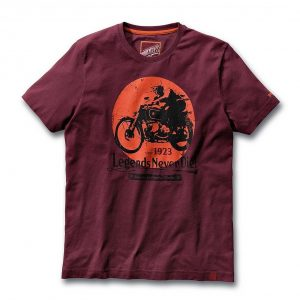 Мужская футболка BMW Motorrad Legends, Red-Brown