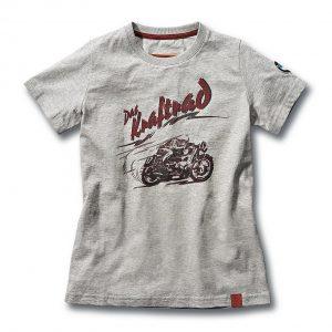Детская футболка BMW Motorrad Kraftrad, Grey Melange