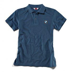 Мужская рубашка-поло BMW Motorrad Logo Classic, Blue