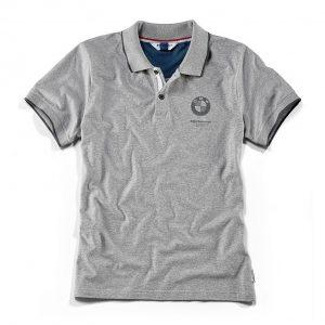 Мужская рубашка-поло BMW Motorrad, Grey