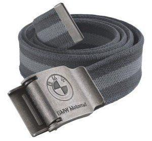 Текстильный ремень BMW Motorrad Canvas Belt, Grey Line