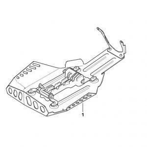 Алюминиевая защита двигателя эндуро BMW R 1200 GS / Adventure 2007-2014 год