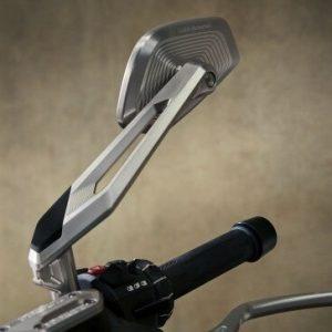 Серебристые анодированные зеркала заднего вида Option 719 Classic BMW R 1200 / R 1250