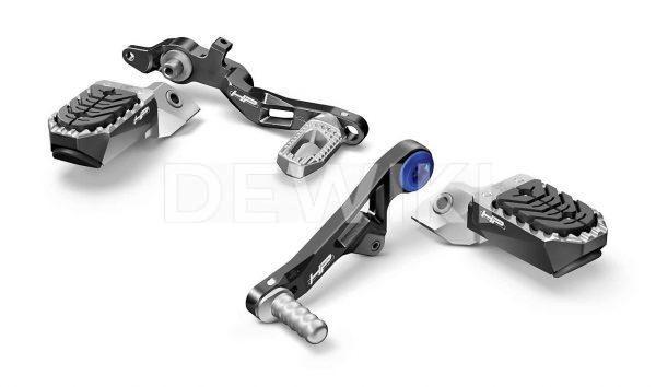 Регулируемый рычаг переключения передач и тормоза Option 719 HP BMW R 1200 / R 1250 / GS / ADV.