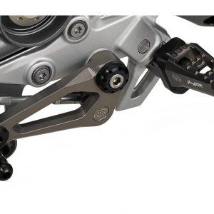 Фрезерованная подножка BMW R 1200 / 1250 / R / RS, регулируемая, правая