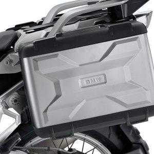 Черный раздвижной кофр BMW R 1200 GS 2012-2018 год, 20–29 литров, правый