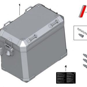 Запорныи? цилиндр (с кодами) для центрального замка мотоцикла BMW S 1000 RR