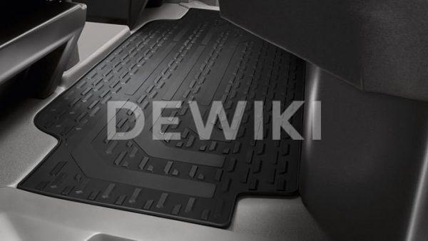 Коврики в салон Volkswagen Crafter с 2016 года, резиновые задние