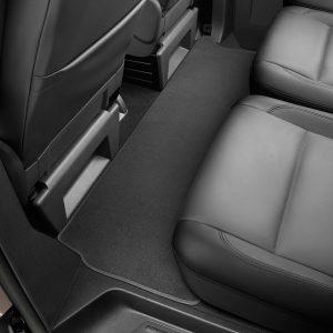 Коврик в салон VW Transporter (T5) / (T6), текстильный Premium, передний средний черный