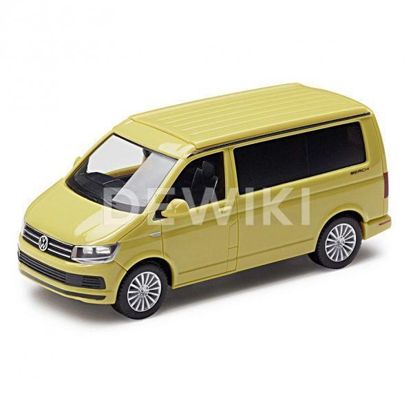 Модель в миниатюре 1:87 Volkswagen T6 California, Grape Yellow