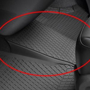 Коврик в салон центральный Volkswagen Transporter (T5) / (T6), резиновый