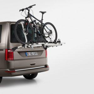 Крепление для перевозки велосипедов на заднюю дверь Volkswagen Transporter (T5)