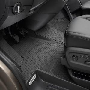 Коврики в салон Volkswagen Transporter (T5) / (T6), резиновые передние, 3 шт