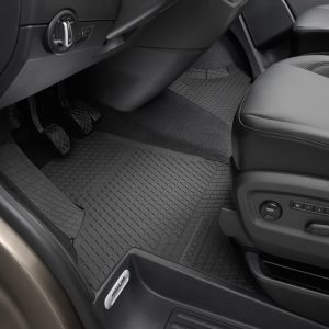 Коврики в салон Volkswagen Transporter (T5) / (T6), передние резиновые для водителя и переднего пассажира