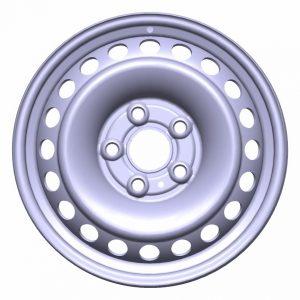 Диск колеса R16 Volkswagen Amarok (2H), стальной, 6,5J x 16 ET52