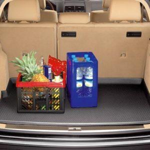Коврик в багажник Volkswagen Touareg (7L), для автомобилей с 4-зональным кондиционером