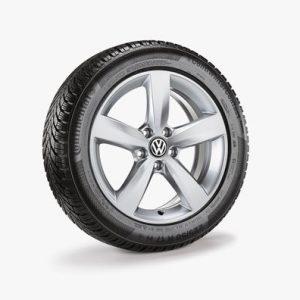 Зимнее колесо в сборе VW Sharan в дизайне Avus, 225/50 R17 98H XL, Silver, 7.0J x 17 ET39