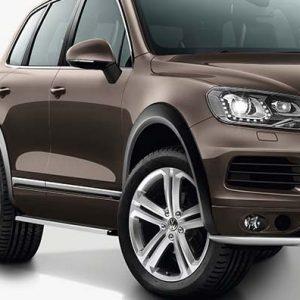 Расширители колесных арок Volkswagen Touareg (7P), грунтованные для комплектации Highline