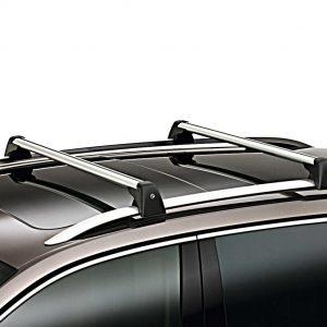 Багажные дуги Volkswagen Touareg (7P), для автомобилей с релингом крыши