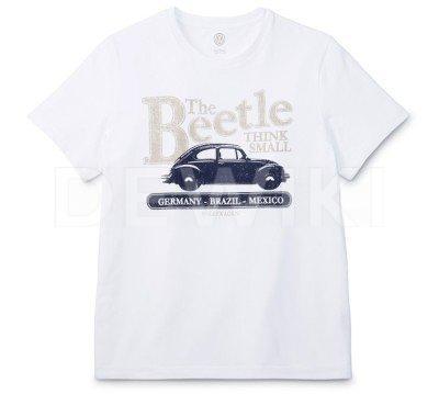 Мужская футболка Volkswagen Beetle, White