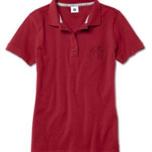 Женская рубашка-поло BMW , Red