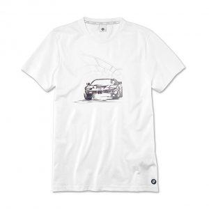 Мужская футболка BMW Graphic, White