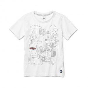 Детская интерактивная футболка BMW, White