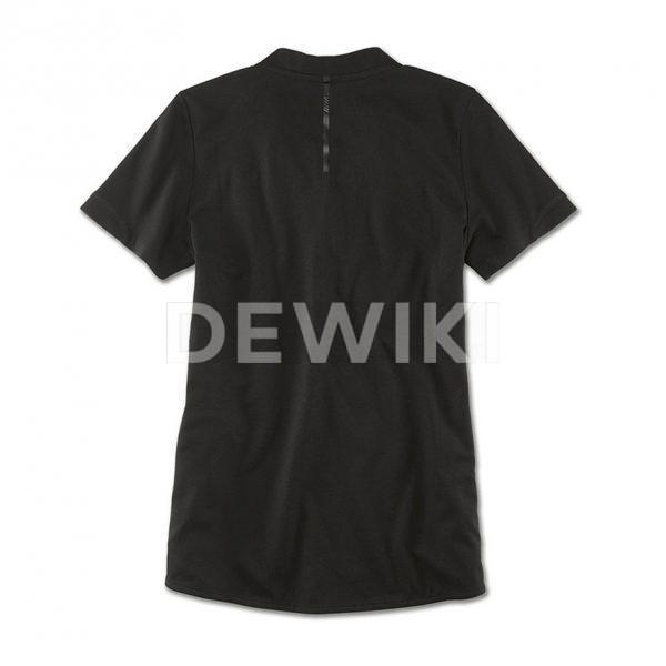 Женская рубашка-поло BMW M, Black
