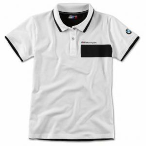 Женская рубашка-поло BMW M Motorsport, Black/White