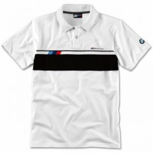 Мужская рубашка-поло BMW M Motorsport, White