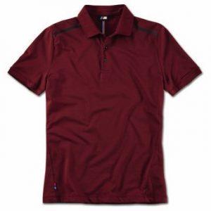 Мужская рубашка-поло BMW M, Burgundy