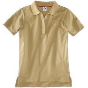 Женская рубашка-поло BMW, Sand