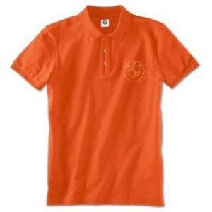 Мужская рубашка-поло BMW, Orange