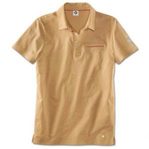 Мужская рубашка-поло BMW, Sand