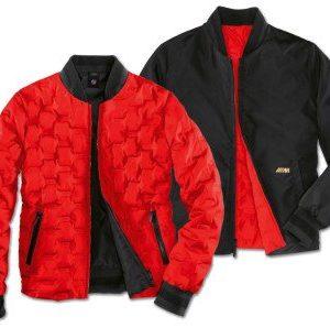Женская двусторонняя куртка BMW M Reversible Jacket, Black/Red