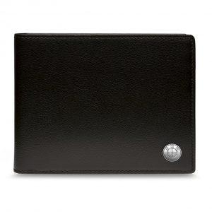 Кожаное портмоне с отделением для монет BMW, Black