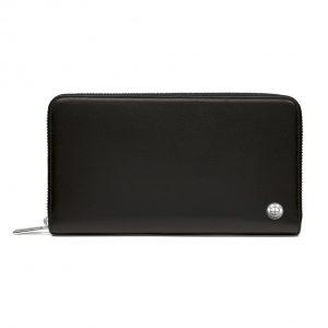 Кожаное портмоне BMW, горизонтальный формат, Black
