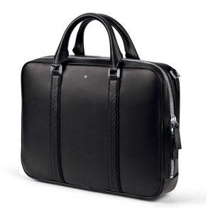 Кожаный портфель Montblanc для BMW