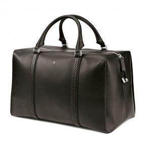 Кожаная дорожная сумка Montblanc для BMW, Black