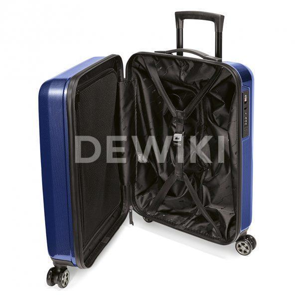 Чемодан для ручной клади BMW M, 42 литра, Marina Bay Blue
