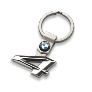 Брелок для ключей BMW 4 серии, гипоаллергенная сталь