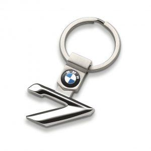 Брелок для ключей BMW 7 серии, гипоаллергенная сталь