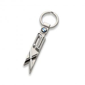 Брелок для ключей BMW X2 серии, гипоаллергенная сталь