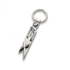 Брелок для ключей BMW X3 серии, гипоаллергенная сталь