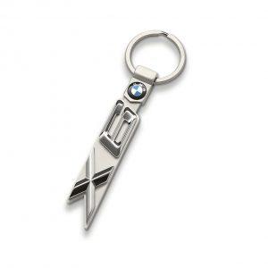 Брелок для ключей BMW X6 серии, гипоаллергенная сталь